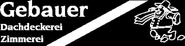 Gebauer GmbH & Co.KG - Logo